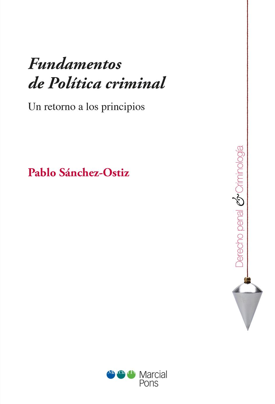 Portada del libro Fundamentos de Política criminal