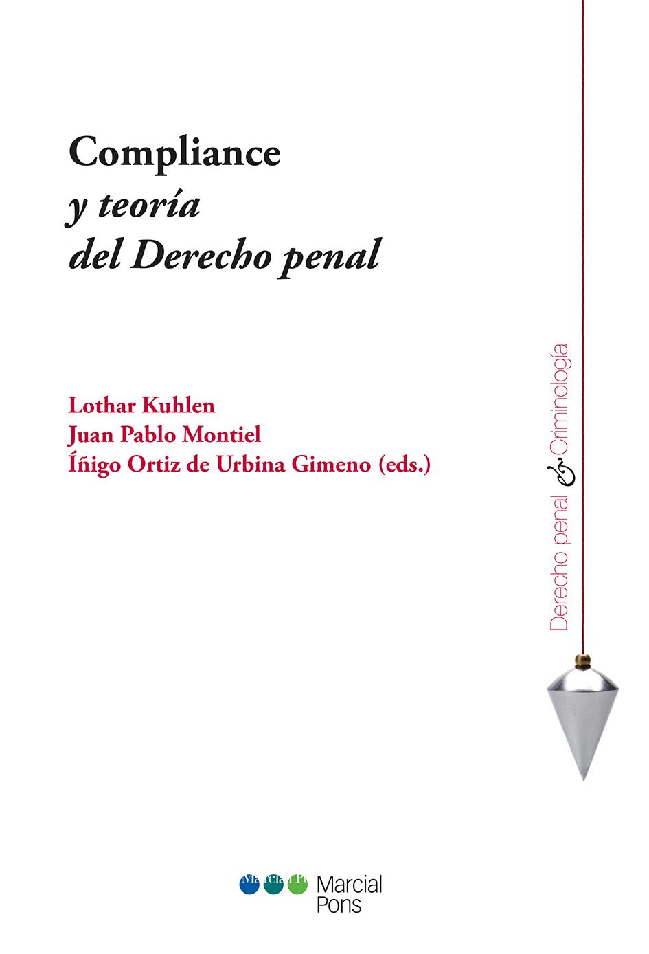 Portada del libro Compliance y teoría del Derecho penal