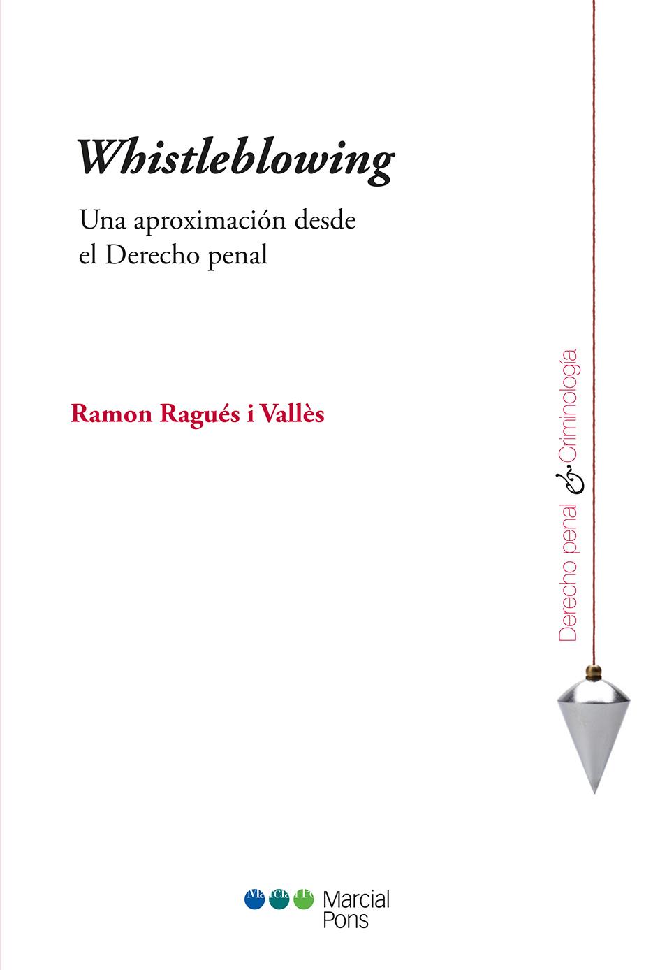 Portada del libro Whistleblowing