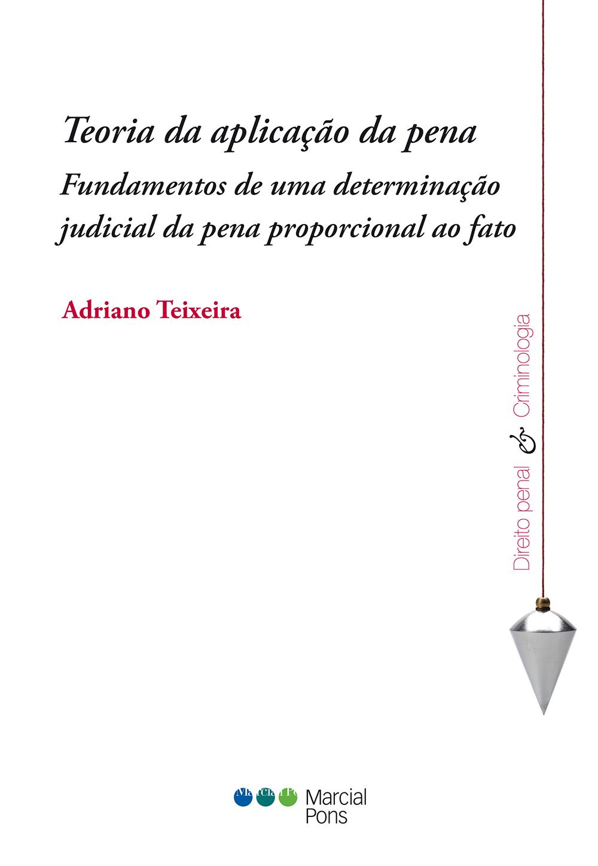 Portada del libro Teoria da aplicação da pena