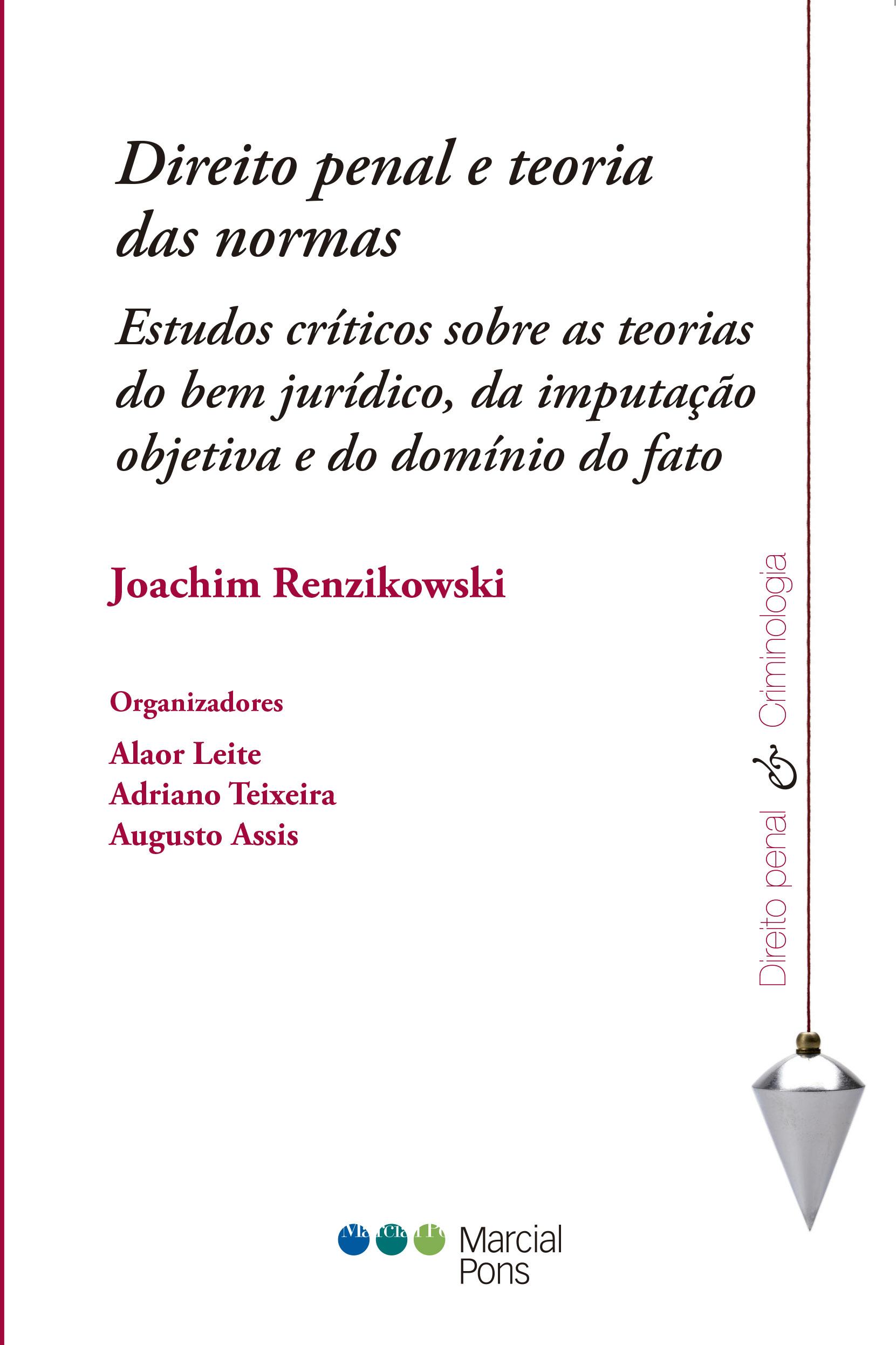 Portada del libro Direito penal e teoria das normas