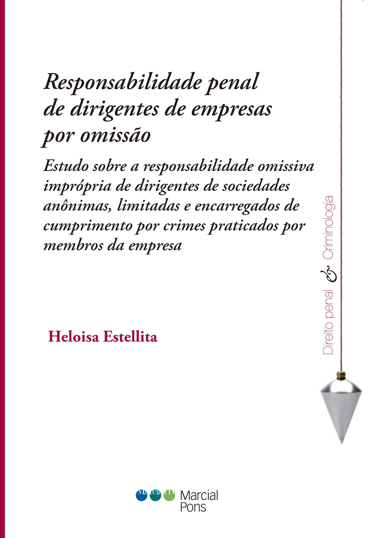 Portada del libro Responsabilidade penal de dirigentes de empresas por omissão