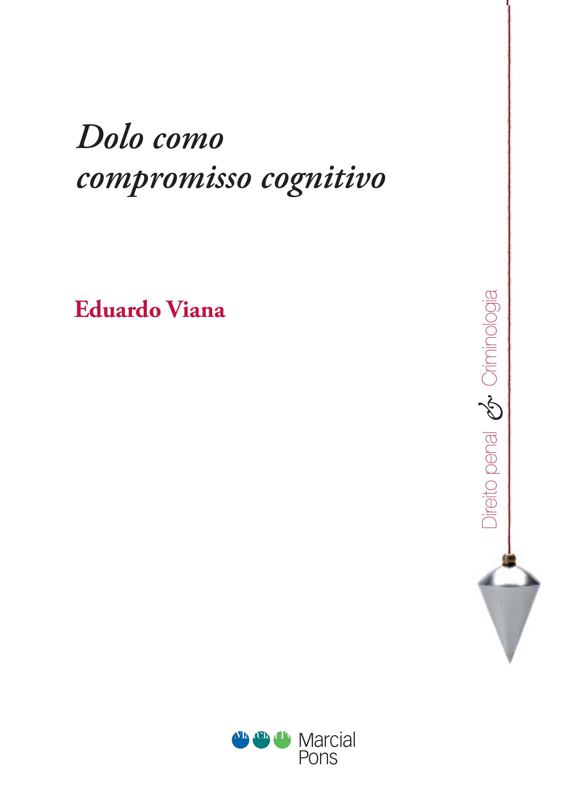 Portada del libro Dolo como compromisso cognitivo