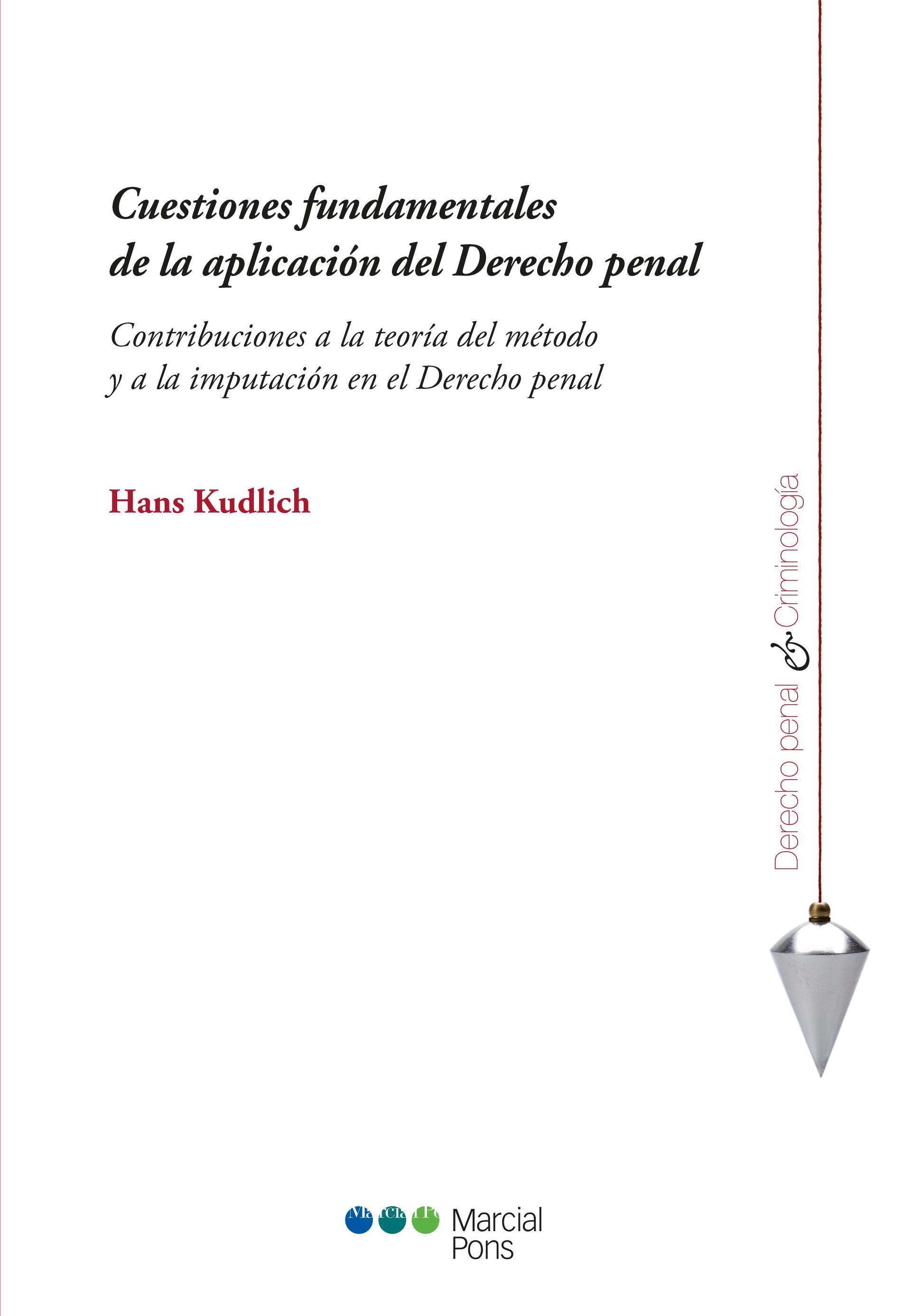 Portada del libro Cuestiones fundamentales de la aplicación del Derecho penal