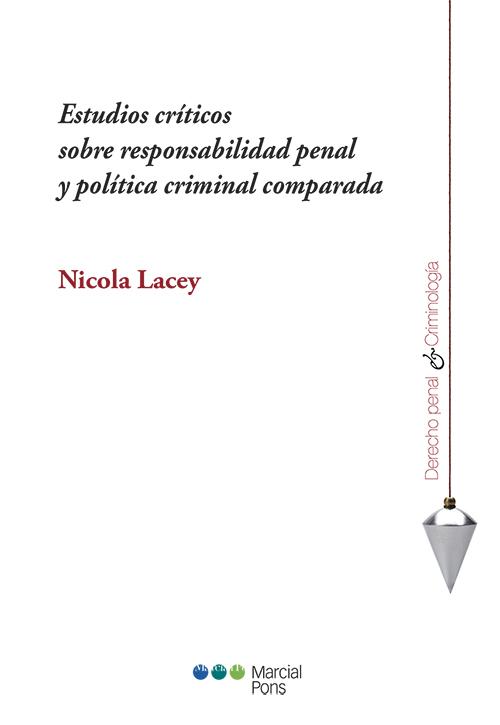 Portada del libro Estudios críticos sobre responsabilidad penal y política criminal comparada